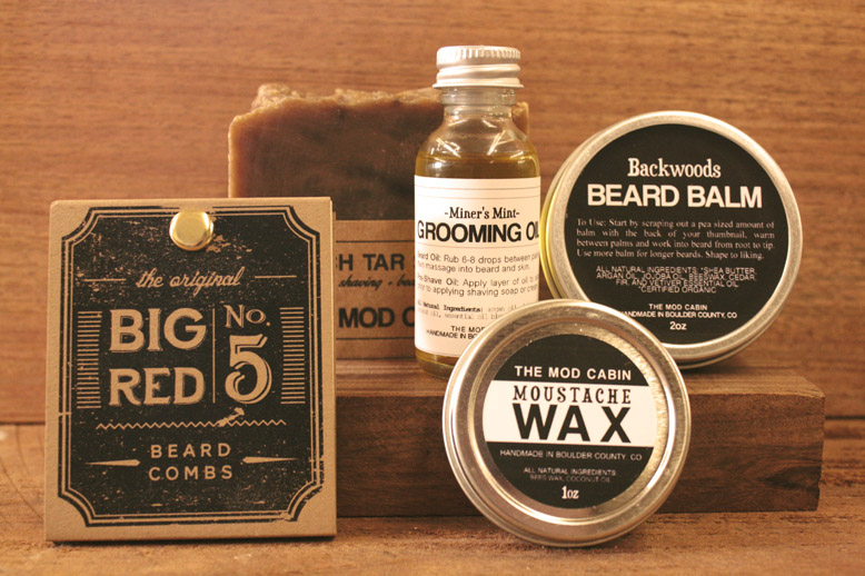 win this badass grooming kit from big red the mod cabin big red beard combs. Black Bedroom Furniture Sets. Home Design Ideas