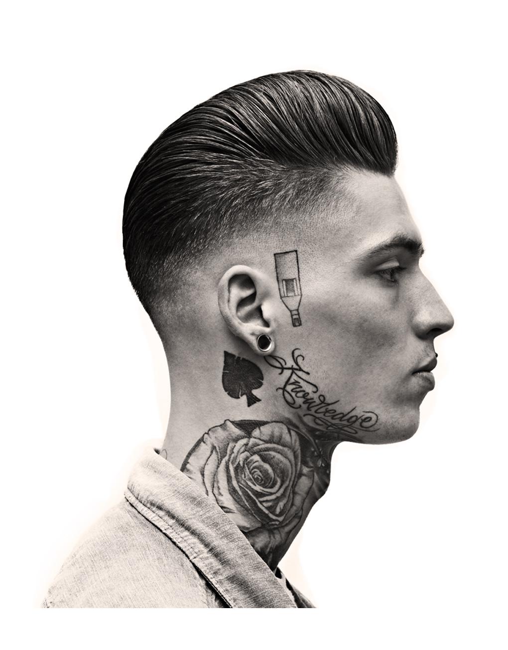 Men Rockabilly Greaser Hairstyles
